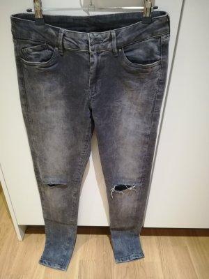 Pepe Jeans Slim jeans donkergrijs
