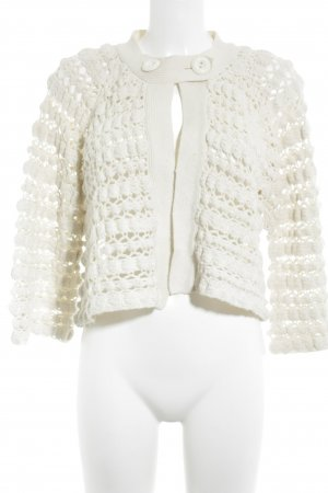 Pepe Jeans Coarse Knitted Jacket cream nude look