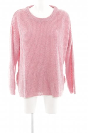 Pepe Jeans Grobstrickpullover pink Webmuster Casual-Look