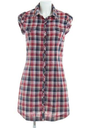 Pepe Jeans Robe chemise motif à carreaux style campagnard