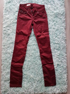 Pepe Jeans Hose weinrot