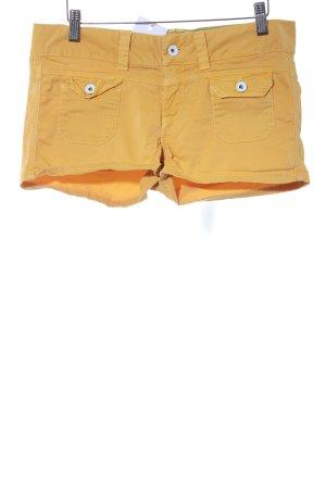 Pepe Jeans Hot Pants dunkelgelb extravaganter Stil