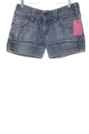 Pepe Jeans Hot Pants kornblumenblau Casual-Look
