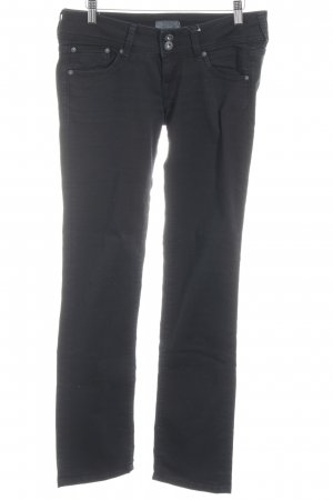 Pepe Jeans Hüfthose schwarz Casual-Look