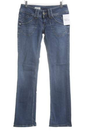 Pepe Jeans Jeans taille basse bleu style campagnard