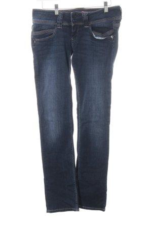 Pepe Jeans Hüftjeans dunkelblau Jeans-Optik