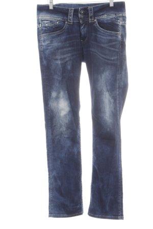 Pepe Jeans Hüftjeans dunkelblau Street-Fashion-Look