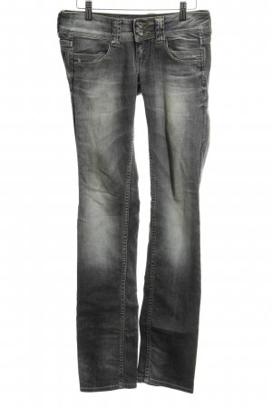 Pepe Jeans Low Rise jeans grijs-lichtgrijs casual uitstraling