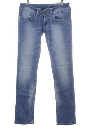 Pepe Jeans Hüftjeans kornblumenblau Casual-Look