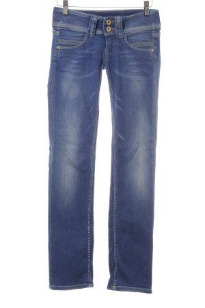 Pepe Jeans Hüftjeans stahlblau 90ies-Stil