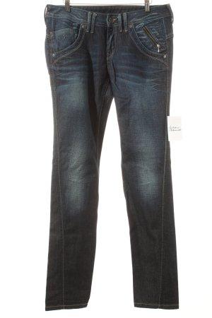 Pepe Jeans Jeans blau Street-Fashion-Look
