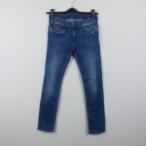 Pepe Jeans Tube Jeans dark blue-blue cotton