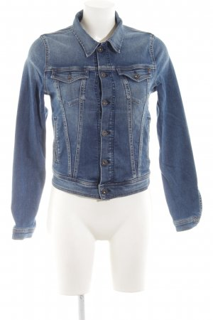 Pepe Jeans Jeansjacke blau Casual-Look