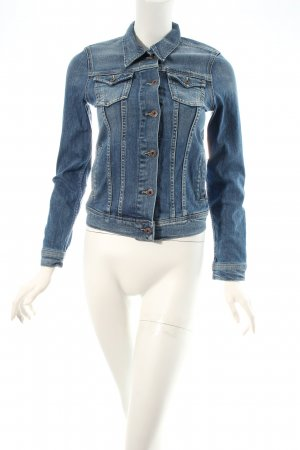 Pepe Jeans Jeansjacke blau Washed-Optik