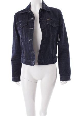 Pepe Jeans Jeansjacke dunkelblau Street-Fashion-Look