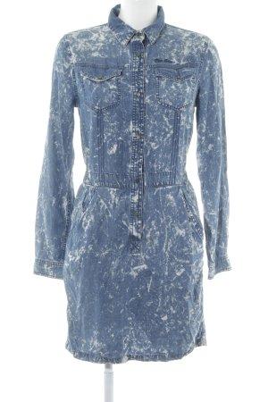 Pepe Jeans Jeanskleid Blau Weiss Farbverlauf Street Fashion Look