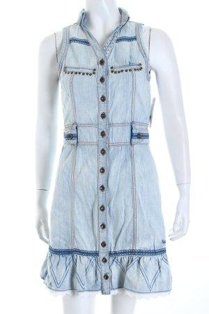 Pepe Jeans Jeanskleid mehrfarbig Boho-Look