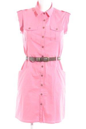 Pepe Jeans Jeanskleid pink Casual-Look