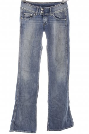 Pepe Jeans Jeansschlaghose blau Casual-Look