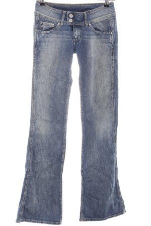 Pepe Jeans Jeans a zampa d'elefante blu stile casual