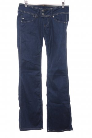 Pepe Jeans Jeansschlaghose dunkelblau Casual-Look