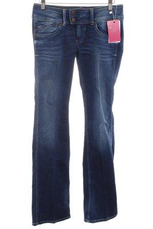 Pepe Jeans Jeans a zampa d'elefante blu scuro stile casual