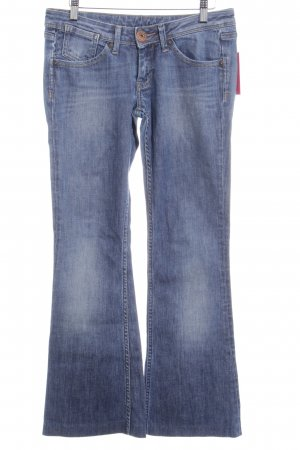 Pepe Jeans Jeansschlaghose stahlblau Retro-Look