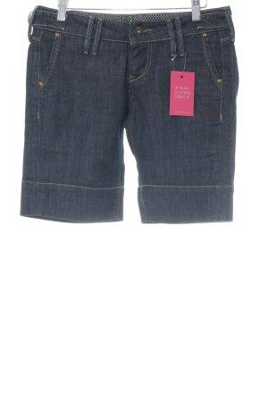 Pepe Jeans Pantalón corto de tela vaquera azul oscuro Apariencia vaquera