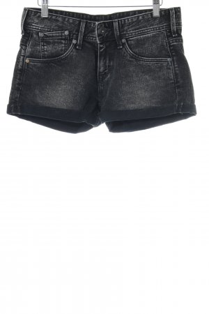 Pepe Jeans Denim Shorts dark grey-light grey casual look