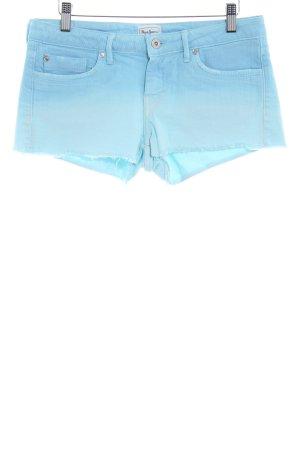 Pepe Jeans Jeansshorts Farbverlauf Beach-Look