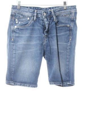 Pepe Jeans Jeansshorts stahlblau Casual-Look