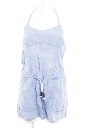 Pepe Jeans Jumpsuit himmelblau 90ies-Stil