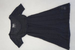 Pepe Jeans Sweater Dress black mohair