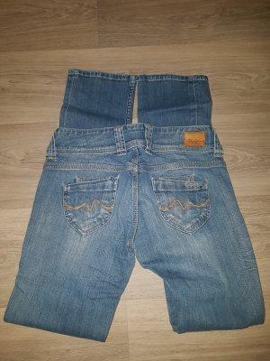 Pepe Jeans London Low Rise Jeans blue