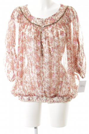 Pepe Jeans Langarm-Bluse Blumenmuster Casual-Look