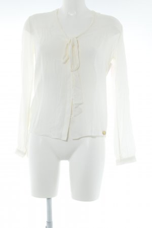 Pepe Jeans Langarm-Bluse creme Business-Look
