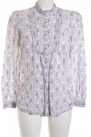 Pepe Jeans Langarm-Bluse florales Muster Casual-Look