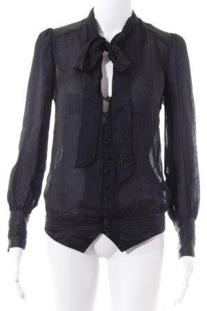 Pepe Jeans Langarm-Bluse schwarz Elegant