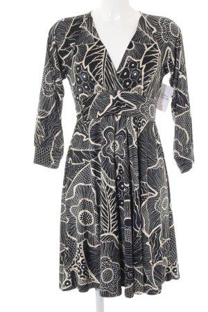 Pepe Jeans Langarmkleid abstraktes Muster klassischer Stil
