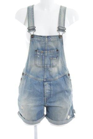 Pepe Jeans Latzhose hellblau Jeans-Optik