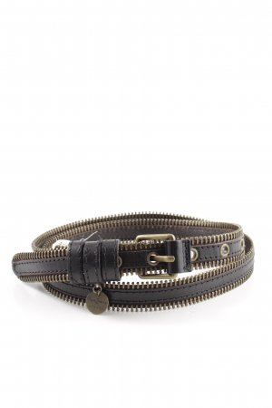 Pepe Jeans Leather Belt brown-bronze-colored casual look