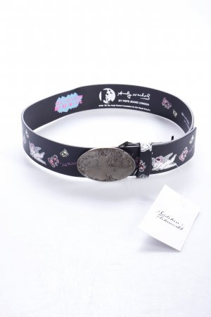 Pepe Jeans leather belt Andy Warhol Edition