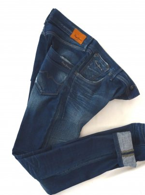 Pepe Jeans Boyfriend Jeans blue cotton