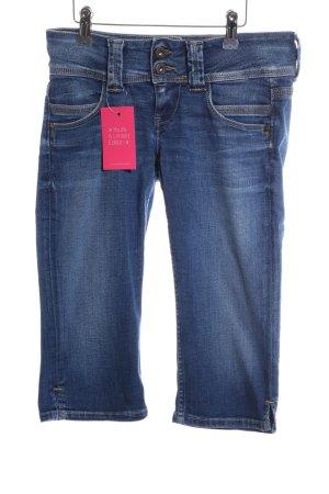 Pepe Jeans London 3/4 Jeans blau Casual-Look