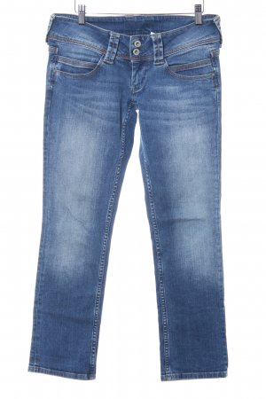 Pepe Jeans London 3/4 Jeans stahlblau Casual-Look