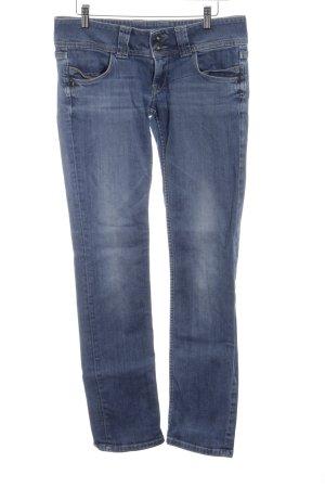 Pepe Jeans London 7/8 Jeans blau Jeans-Optik