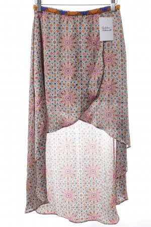 Pepe Jeans London Asymmetry Skirt abstract pattern extravagant style