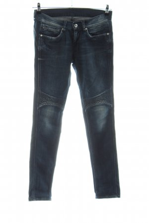 Pepe Jeans London Biker jeans blauw casual uitstraling