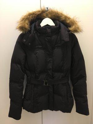 Pepe Jeans London blau schwarz Fell braun s xs 34 36 winterjacke Mantel