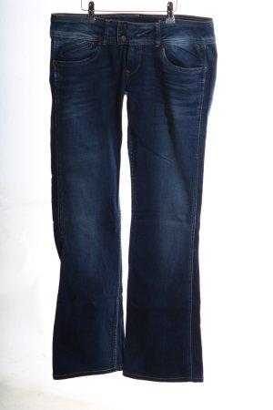 Pepe Jeans London Boot Cut Jeans blau Casual-Look